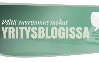 Vältä suurimmat mokat yrityksen blogissa